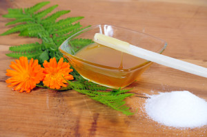 Zuckerpaste für Damenbart